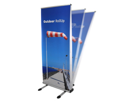 Outdoor RollUp Display