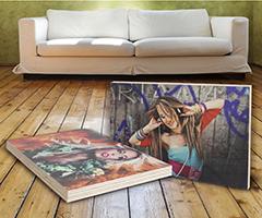 Ihr Foto auf Holz