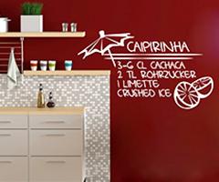 Küche Wandtattoo