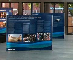 Mobile Ausstellungswand