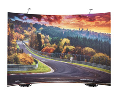 expolic Fabric - Textildisplay
