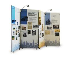 Stellwände / Ausstellungswände