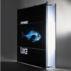 SignWare Indoor-Luce hinterleuchtetes Rahmensystem