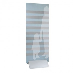 digipressto silber 300 mm Klemmprofil-Paneelhalter