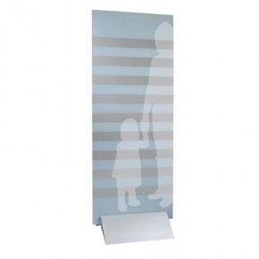 digipressto schwarz 200 mm Klemmprofil-Panelhalter