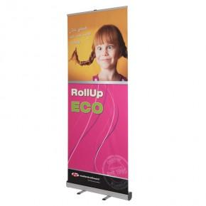 ECO RollUp 85x200cm - das preiswerte RollUp-Display