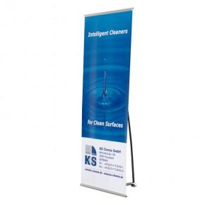 BannerStand 60x180cm SET - das hochwertige Banner Display