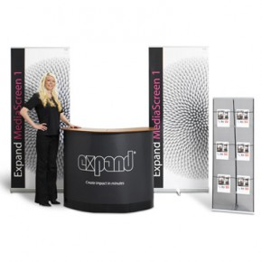 Expand Kit 1 - Rollup Display, Beratungstheke, Brochure Holder
