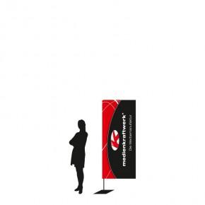 PoleFlag EVO small Werbefahne - 208cm