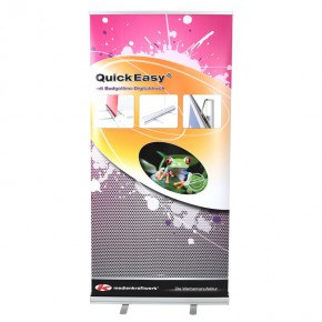 QuickEasy ® 100/200 Set - das günstige RollUp-Display