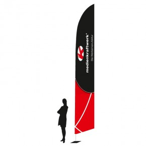 Promotionfahne SharkFlag EVO large