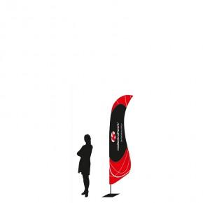 WingFlag EVO small  Werbefahne - 271cm