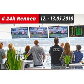 VIP Ticket zum ADAC Zurich 24h-Rennen 12. - 13.05.2018 am Nürburgring