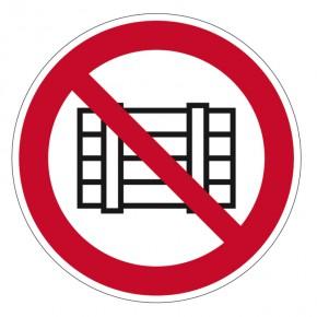 Abstellen und lagern verboten - Verbotsschild