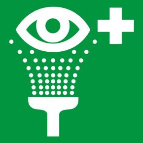 Rettungsschild Augenspüleinrichtung