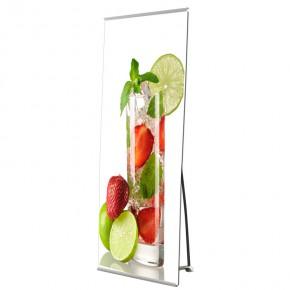 BannerStand 100x220cm SET - das hochwertige Banner Display