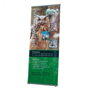 BannerStand 80x200cm SET - das hochwertige Banner Display