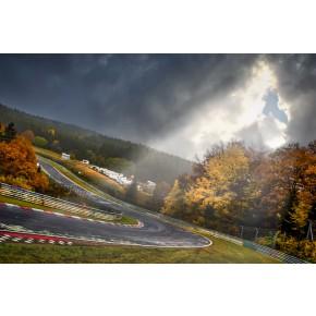 Brünchen Licht - Nürburgring - Wandbild