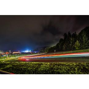 Brünchen Nacht - Nürburgring - Wandbild