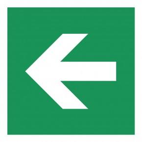 Laufrichtung Seite - E000 - Rettungsschild