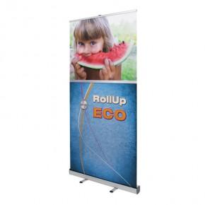 ECO RollUp 100x200cm - das preiswerte Einsteiger RollUp Display
