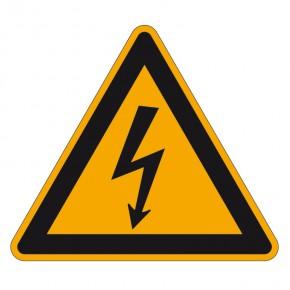 Warnschild Elektrische Spannung