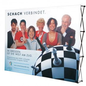 Expand BigFabric 4x3 S Textil Faltdisplay