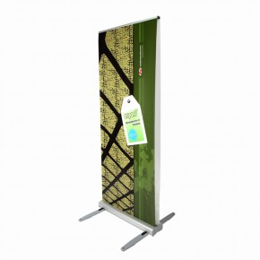 Expand MediaScreen 2 Outdoor 85/200 - das doppelseitige Rollup Display
