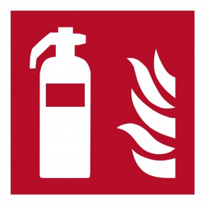 Feuerlöscher - F001 - Brandschutzschild