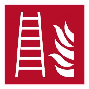 Feuerleiter - F003 - Brandschutzschild