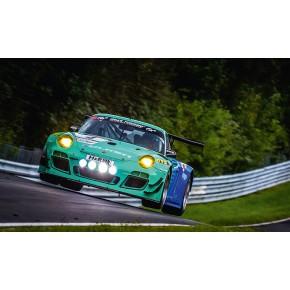 Falken Porsche - AluDibond Wandbild
