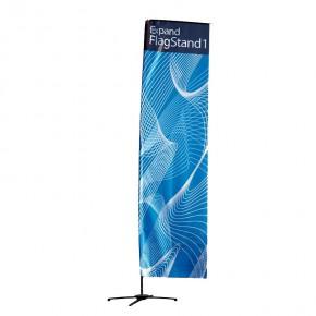 Promotionfahne Expand FlagStand 100 x 400 cm