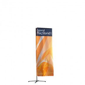 Promotionfahne Expand FlagStand 100 x 300 cm