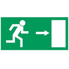 Rettungsschild Fluchtweg rechts