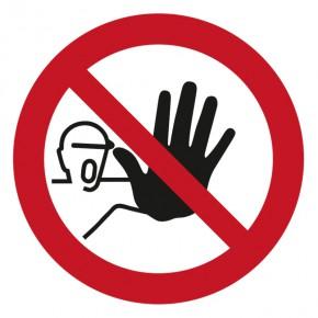 Verbotsschild Zutritt / Durchgang verboten