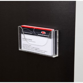 Prospektbox Acryl für Visitenkarten
