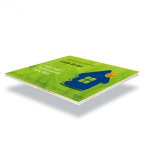 Druck auf Hohlkammerplatte DIN A1