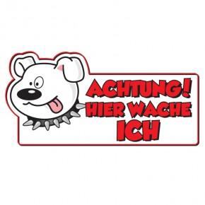 Warnschild Achtung Hund Deutsch
