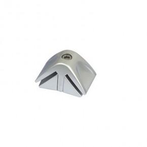 Ix Bond Plattenverbinder 90° silber
