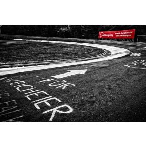 Karussell - Nürburgring - Wandbild