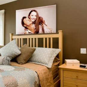 Ihr Foto auf Leinwand (2cm Rahmen)