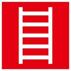 Leiter - Brandschutzschild