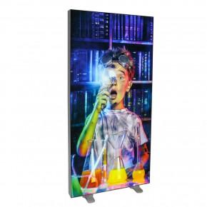 Lightbox Easy Kunststoff LED Leuchtwand freistehend