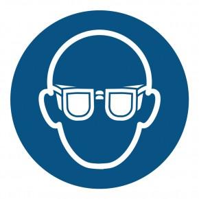 Gebotsschild Augenschutz benutzen - M004