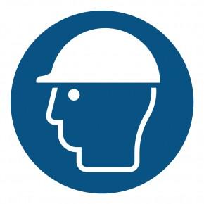 Gebotsschild Kopfschutz benutzen - M014