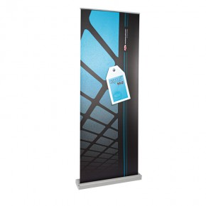 Expand M2 RollUp-Display 85/225 silber Basicline Set