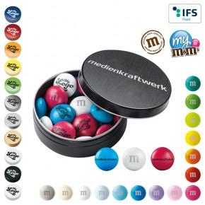 M&M's® Metallbox - Schokolinsen mit individuellem Druck