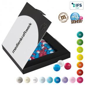 M&M's® Premium Promotion Box - Schokolinsen mit individuellem Druck