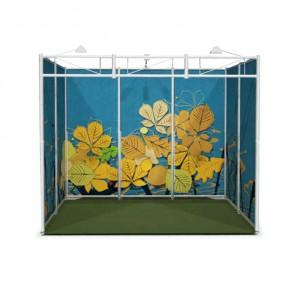 OCTAquick 3x2m Textil - der mobile Ausstellungsstand