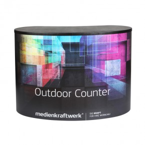 Outdoor Counter - Werbetheke